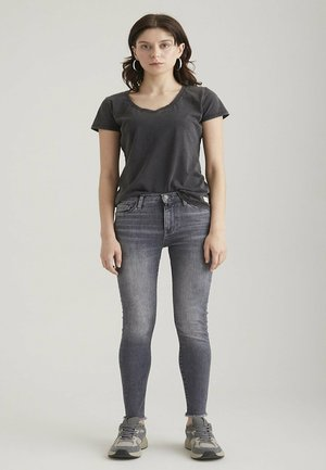 LINA - VINTAGE - Jeans Skinny Fit - grey vintage