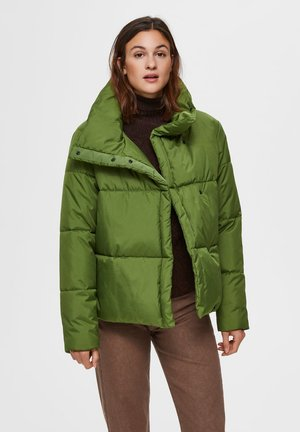 Winter jacket - twist of lime