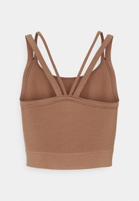 Cotton On Body - SEAMLESS DOUBLE STRAP VESTLETTE - Top - cashew - 1