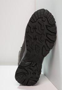 Hi-Tec - BANDERA LITE MID WP - Chaussures de marche - charcoal/grey/goblin blue - 4