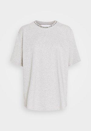 LOGO - Jednoduché triko - grey melange