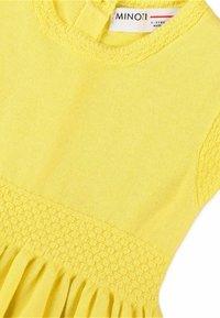 MINOTI - Jumper dress - yellow - 2