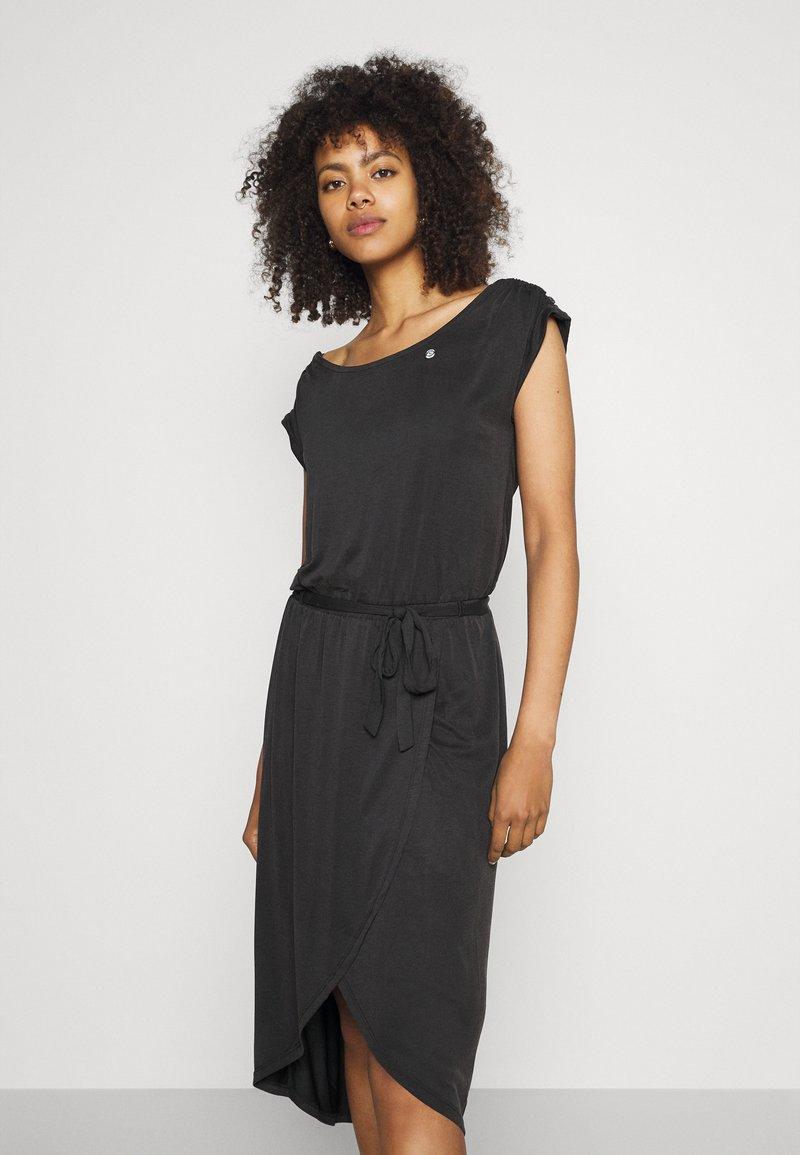 Ragwear - ETHANY - Jersey dress - black
