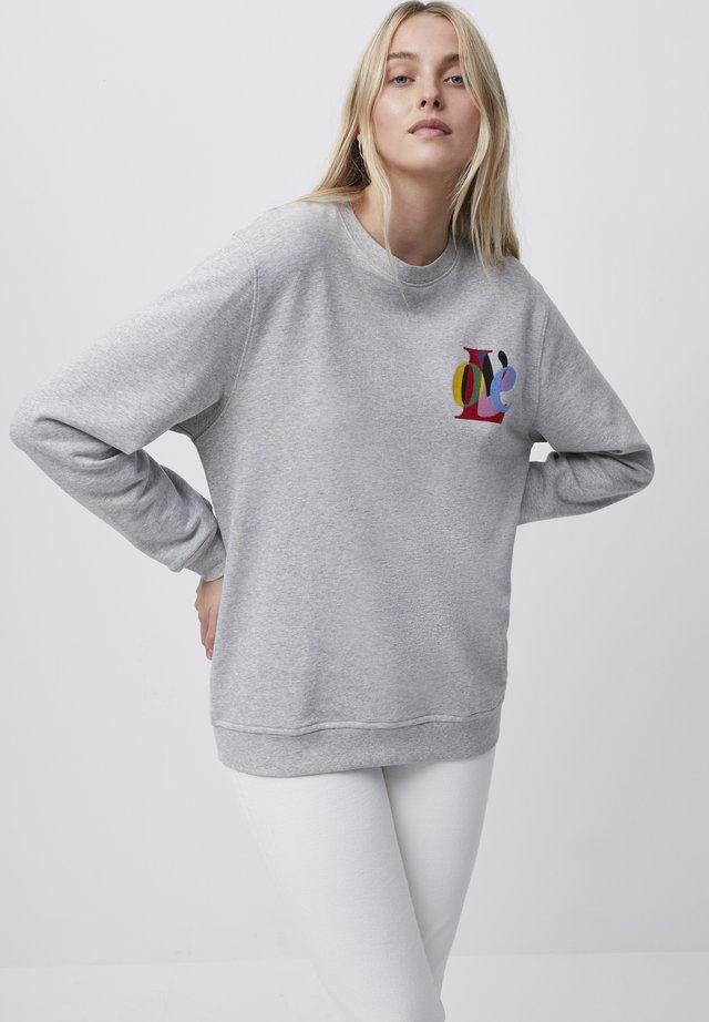 Sweatshirt - light grey mel