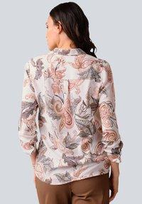 Alba Moda - Button-down blouse - rosé braun - 2