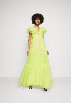 CHRISHELLE DRESS - Occasion wear - acid yellow