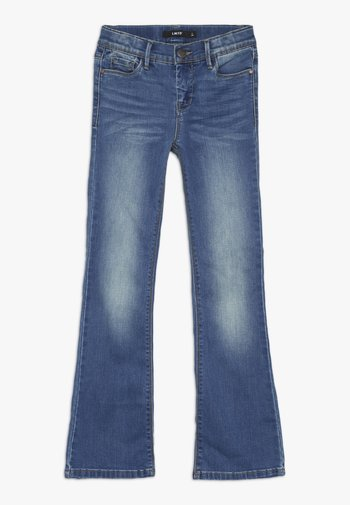 Bootcut jeans - medium blue denim