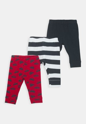 NBMKALLE LONGJOHN 3 PACK - Trousers - jester red