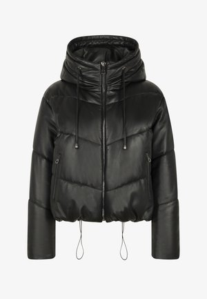 ICY PUFFER - Winter jacket - black