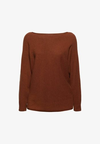 SWEATERS - Jumper - toffee