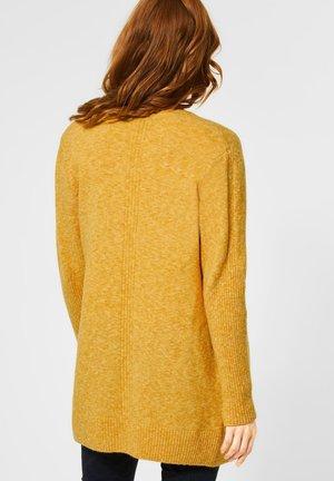KUSCHELIGE  - Cardigan - gelb