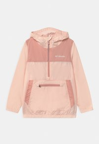 Columbia - BLOOMINGPORT UNISEX - Windbreaker - peach quartz/faux pink - 0