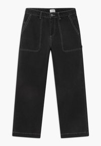 Grunt - WIDE WORKER - Relaxed fit jeans - night black - 0