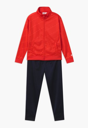 LEGACY BACK TO SCHOOL FULL ZIP SET - Tracksuit - red