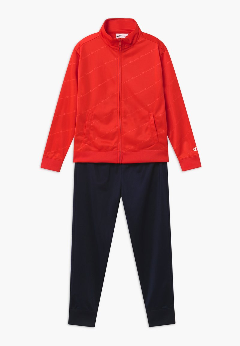 Champion - LEGACY BACK TO SCHOOL FULL ZIP SET - Tracksuit - red