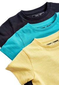 Next - 3PACK - T-paita - yellow - 9