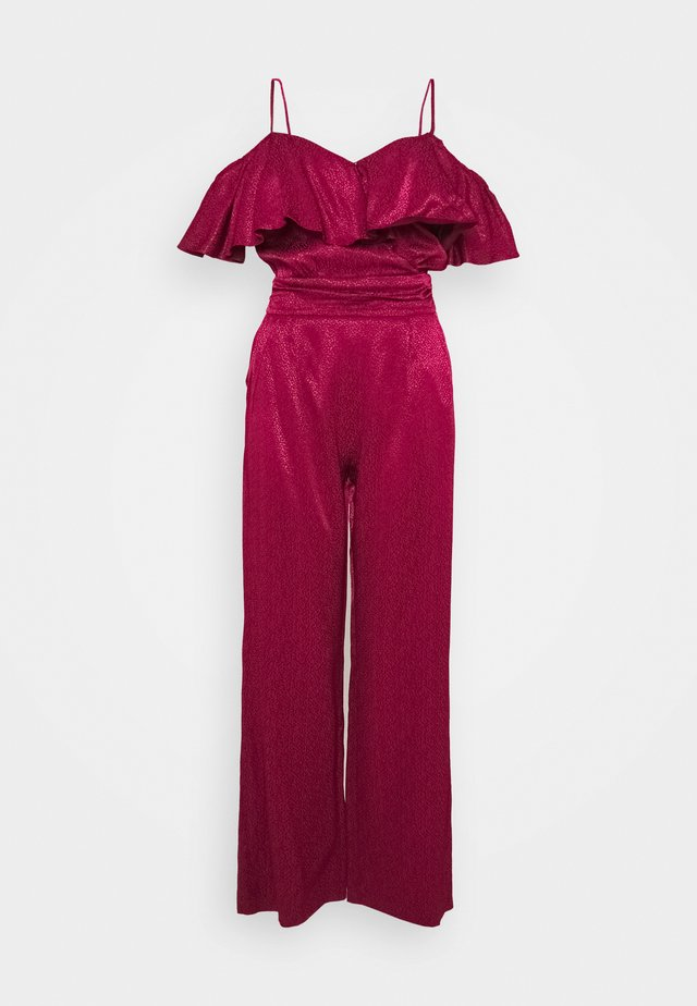 PEND - Jumpsuit - berry