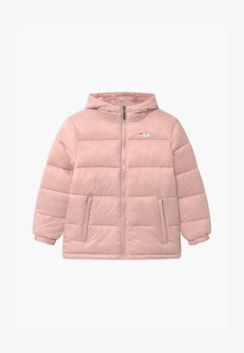 Fila - BROOKLYN PUFFER UNISEX - Zimní bunda - sepia rose