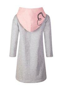 happy girls - Jersey dress - grey melange - 1