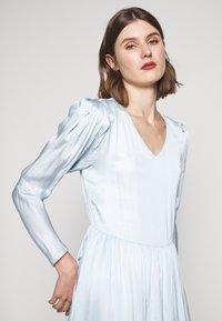 Bruuns Bazaar - ANOUR ART DRESS - Day dress - heather blue - 4