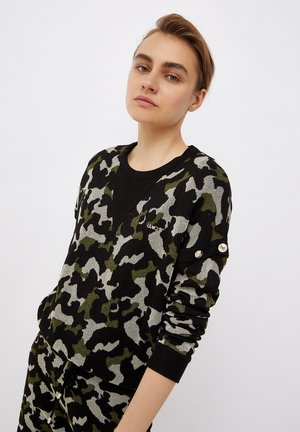 CAMOUFLAGE  IN LUREX - Sweter - green