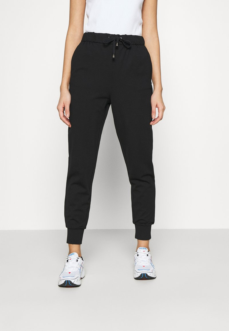 ONLY - ONLPOPTRASH EASY RELAX PANT - Tracksuit bottoms - black