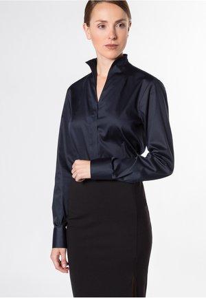 COMFORT FIT - Button-down blouse - dark blue