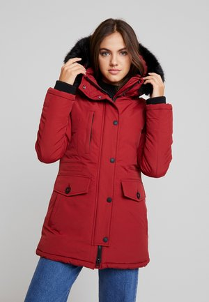 ASHLEY EVEREST - Winter coat - brick red