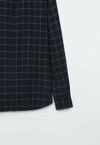 Massimo Dutti - SLIM FIT - Shirt - dark blue - 4