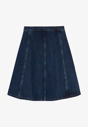 BELLATRIXI - A-line skirt - mid blue