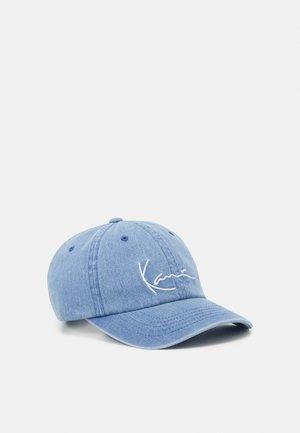 SIGNATURE UNISEX - Cap - blue