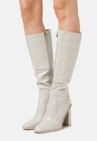 RAID - CELENI - High heeled boots - grey - 0