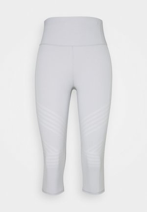 STRIPE CAPRI - Medias - light grey