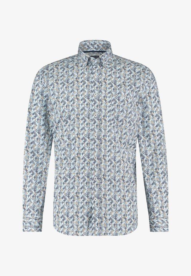 Shirt - grey blue/white grey