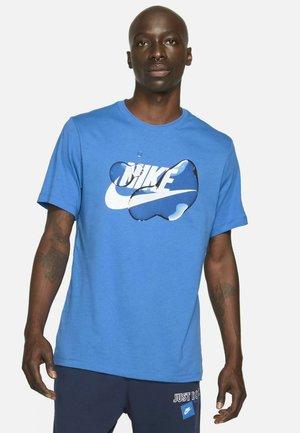 T-shirts print - signal blue