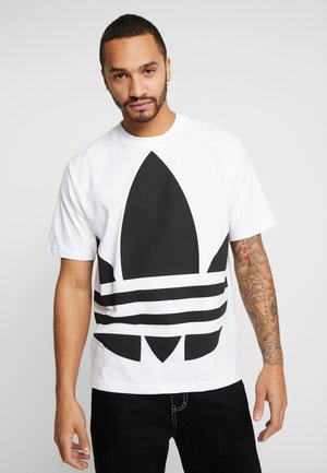 TREFOIL TEE - T-shirt con stampa - white