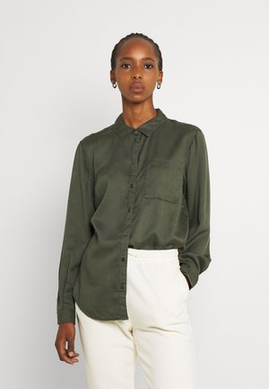 JDYSKYLAR LIFE SHIRT - Button-down blouse - forest night