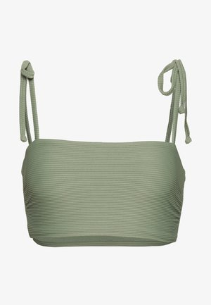ESSENTIALS CAPSULE  OPTION - Bikini top - khaki