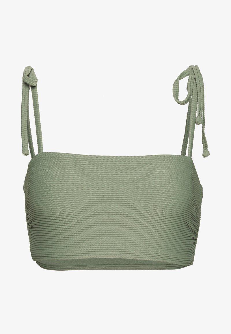 Seafolly - ESSENTIALS CAPSULE  OPTION - Bikini top - khaki