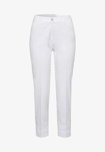 STYLE MARA S - Trousers - white
