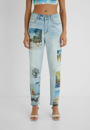 DESIGNED BY ESTEBAN CORTAZAR - Jeansy Relaxed Fit - blue