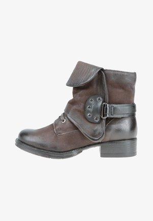 STIEFELETTEN - Cowboy/Biker boots - moka