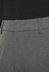 Anna Field - Slim fit business trousers - Trousers - mottled dark grey - 3