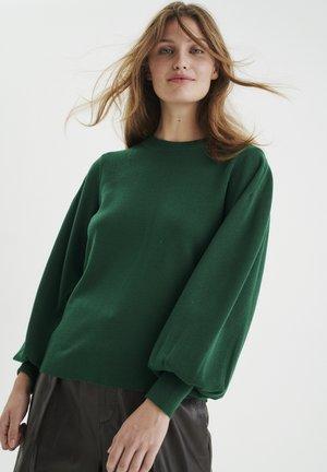 Jumper - warm green