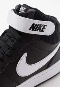 Nike Sportswear - COURT BOROUGH MID UNISEX - High-top trainers - black/white - 2