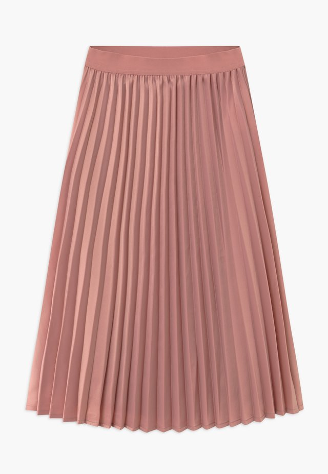 HAZZ - A-line skirt - pastel red