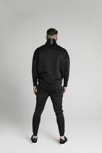 SIKSILK - ELEMENT QUARTER ZIP HOODIE - Sweatshirt - black/gold - 2