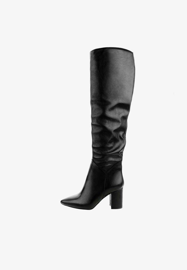 MAMBRINO - Stivali sopra il ginocchio - black