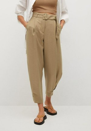 VESTI - Pantalon classique - middenbruin