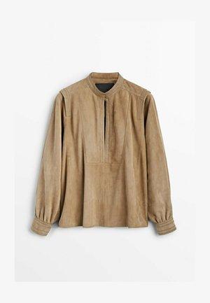 LIMITED EDITION   - Bluzka z długim rękawem - beige